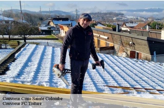 Couvreur  cons-sainte-colombe-74210